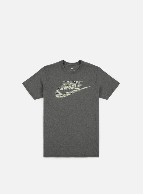 t shirt nike camo pack ii t shirt charcoal heather sail