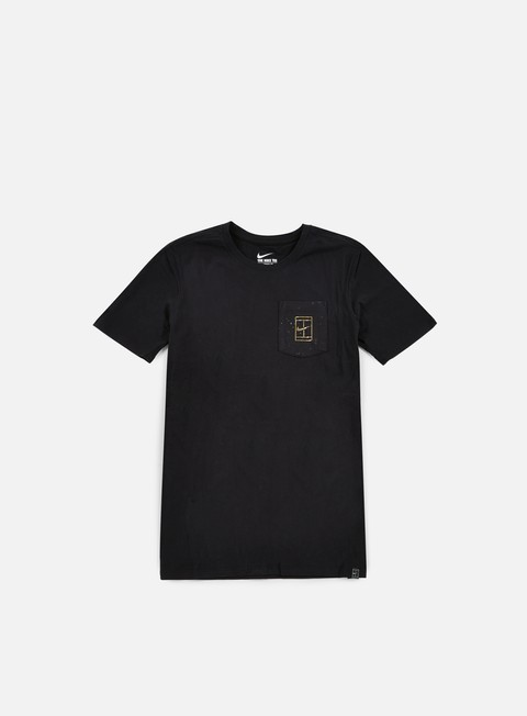 Outlet e Saldi T-shirt a Manica Corta Nike Court Wimb Pocket T-shirt