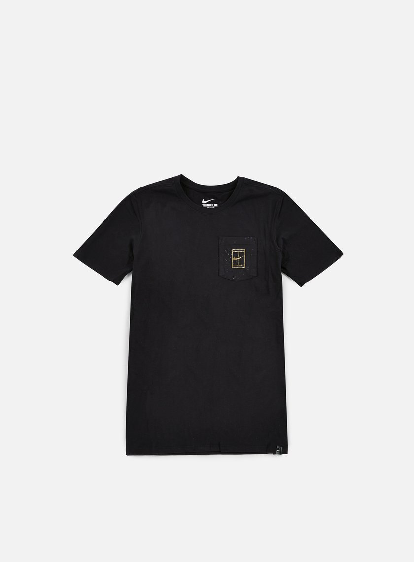 Nike - Court Wimb Pocket T-shirt, Black