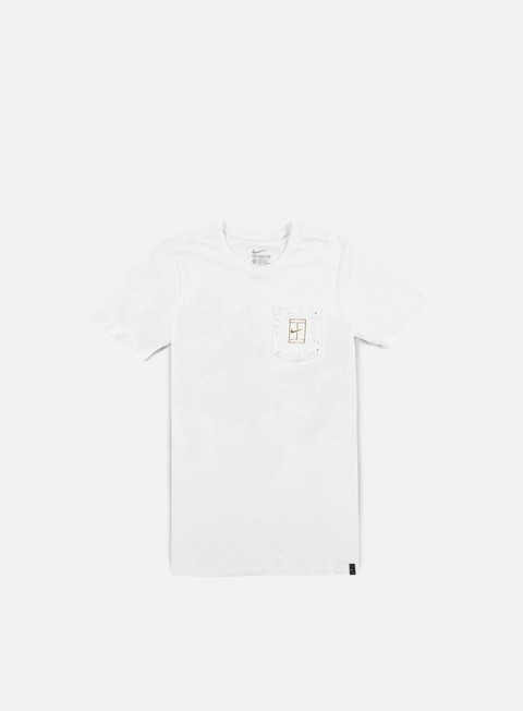 Short Sleeve T-shirts Nike Court Wimb Pocket T-shirt