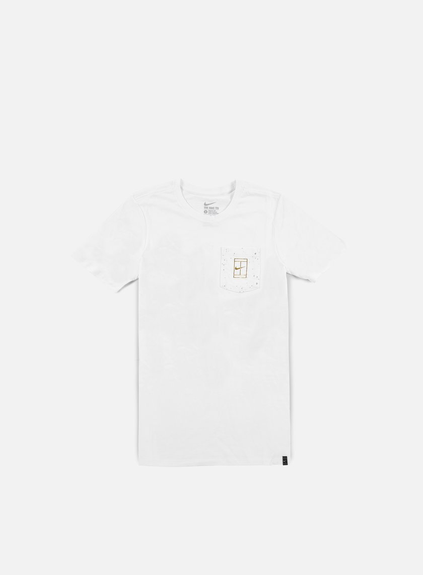 Nike - Court Wimb Pocket T-shirt, White