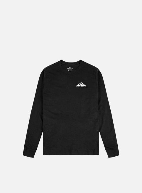 Long Sleeve T-shirts Nike Dry Trail LS T-shirt