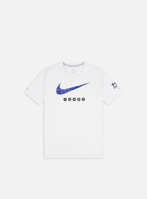 T-shirt a Manica Corta Nike Ekiden Dri-Fit Miler T-shirt