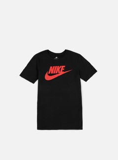 Nike - Futura Icon T-Shirt, Black/University Red