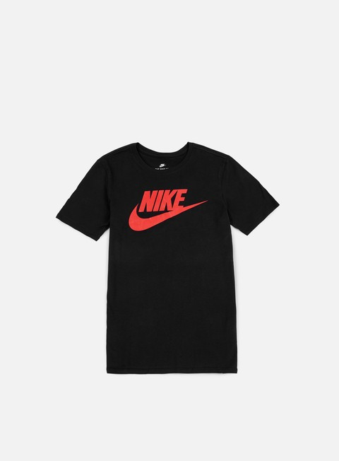 t shirt nike futura icon t shirt black university red