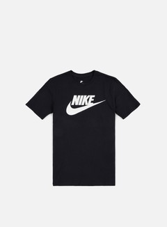 Nike - Futura Icon T-Shirt, Black/White