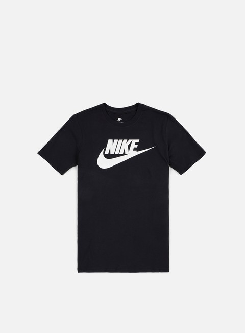 t shirt nike futura icon t shirt black white