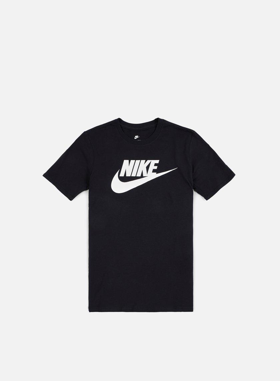 Nike - Futura Icon T-Shirt, Black/White
