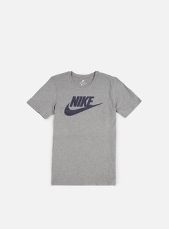Nike - Futura Icon T-Shirt, Carbon Heather/Obsidian 1