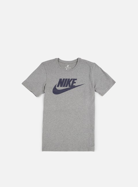 t shirt nike futura icon t shirt carbon heather obsidian