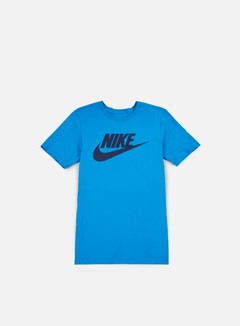 Nike - Futura Icon T-Shirt, Light Photo Blue/Binary Blue