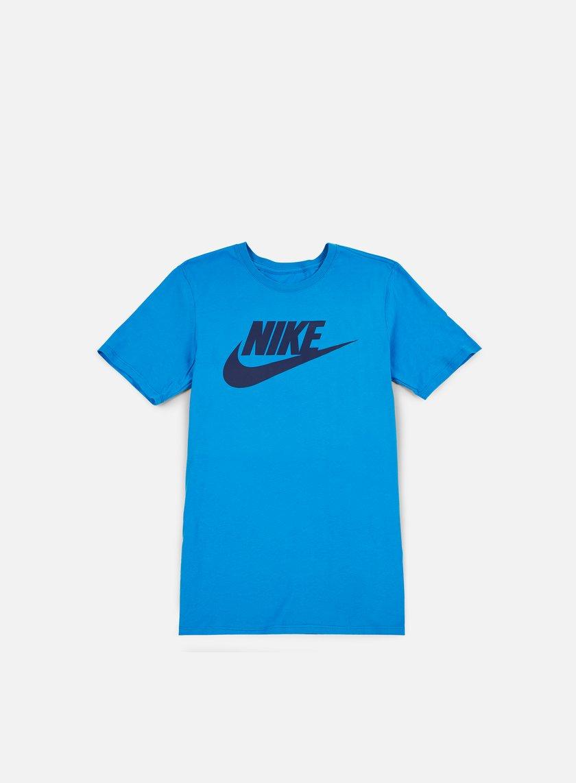 Nike - Futura Icon T-Shirt, Light Photo Blue/Binary Blue