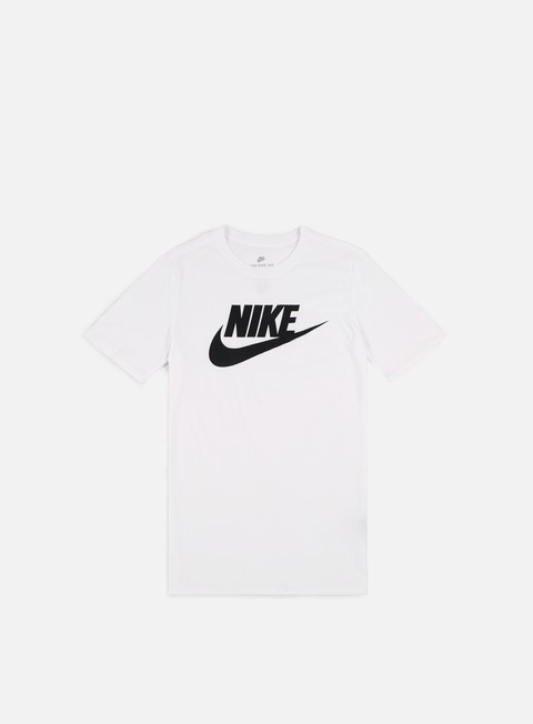 t shirt nike futura icon t shirt white black