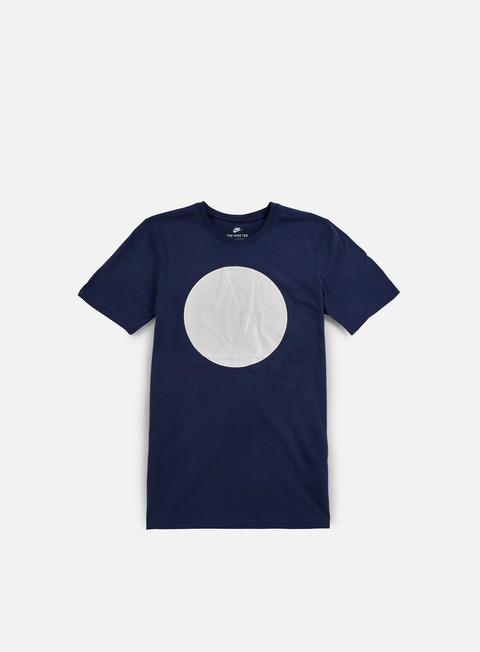 t shirt nike huarache logo t shirt binary blue white