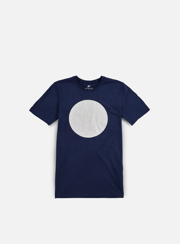 Nike - Huarache Logo T-shirt, Binary Blue/White