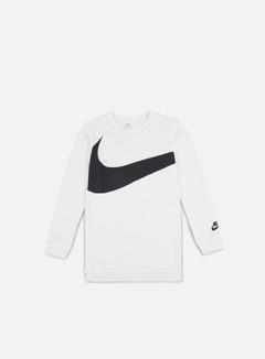Nike - Hybrid LS T-shirt, White/Anthracite 1