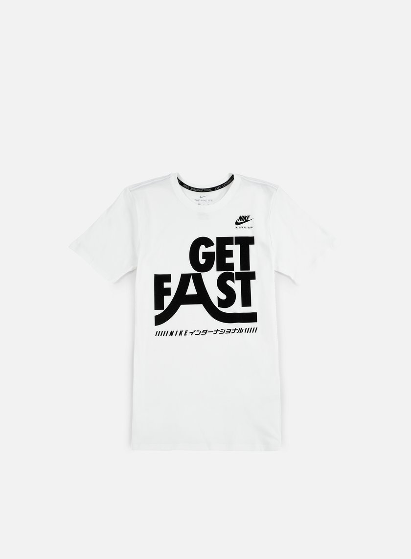 Nike - International T-shirt, White/Black