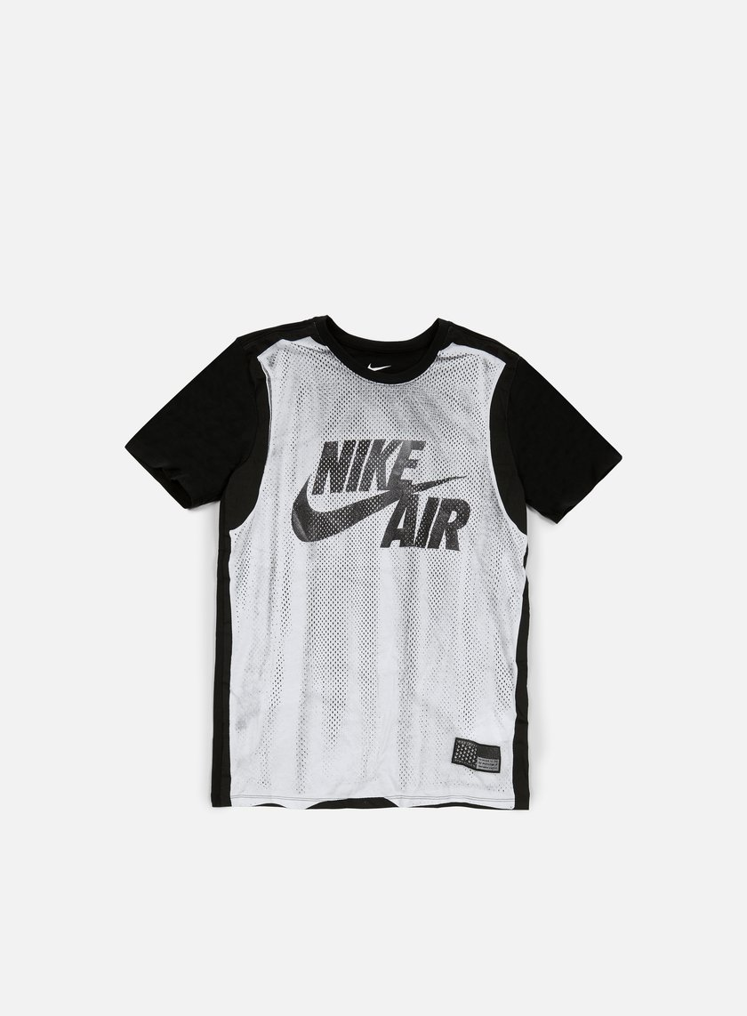 Nike - Jersey T-shirt, White/Black