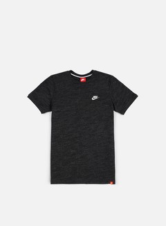 Nike - Legacy Knit T-shirt, Black Heather/Sail 1