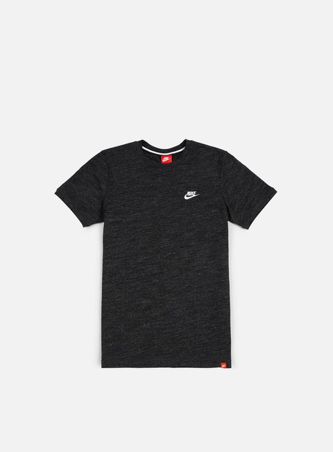 t shirt nike legacy knit t shirt black heather sail