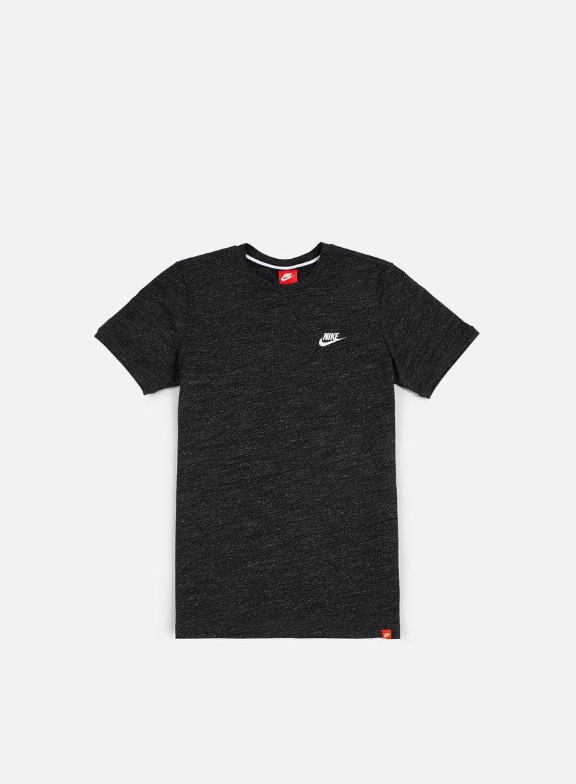 Nike - Legacy Knit T-shirt, Black Heather/Sail