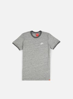 Nike - Legacy Knit T-shirt, Carbon Heather/Sail