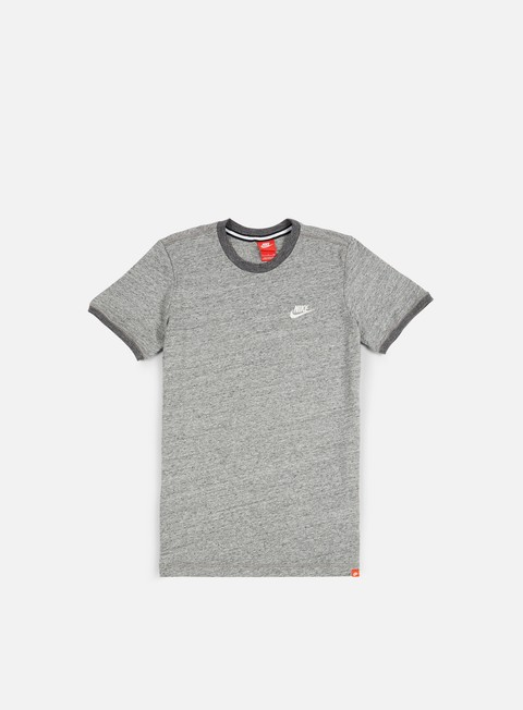 t shirt nike legacy knit t shirt carbon heather sail