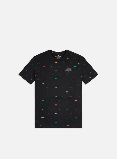 Short Sleeve T-shirts Nike MSW Multi Color AOP T-shirt