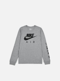 Nike - Nike Air LS T-shirt, Carbon Heather/Black 1