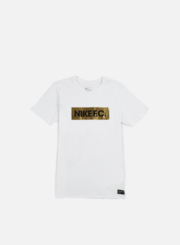Nike - Nike FC Foil T-shirt, White/Black