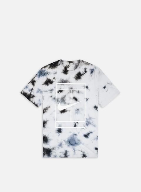 T-shirt a Manica Corta Nike NikeCourt Heritage Dye T-shirt