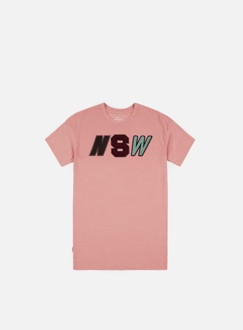 t shirt nike nsw 2 t shirt rust pink