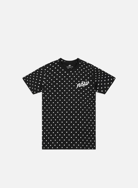 t shirt nike nsw 3 t shirt black white