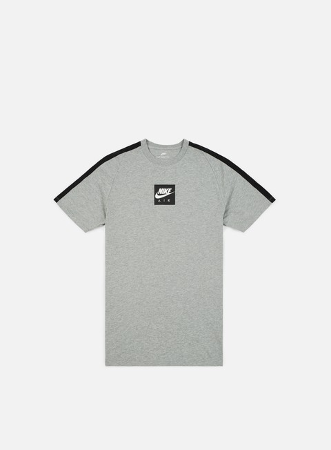 t shirt nike nsw air 3 t shirt dark grey heather white