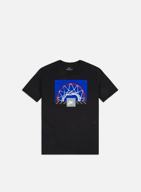 Outlet e Saldi T-shirt a Manica Corta Nike NSW Bball Photo T-shirt