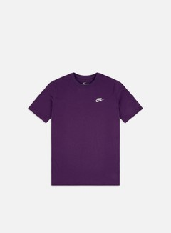 Nike - NSW Club T-shirt, Gran Purple/White