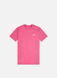 Nike - NSW Club T-shirt, Pinksicle/White