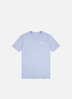 Nike - NSW Club T-shirt, Psychic Bue/White