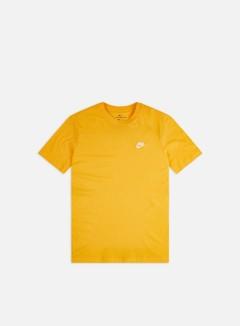 Nike - NSW Club T-shirt, University Gold/White