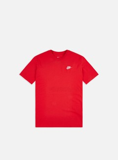 Nike - NSW Club T-shirt, University Red/White