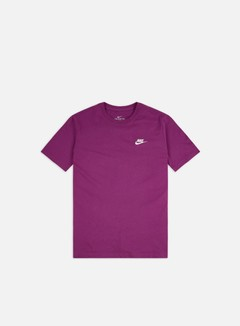Nike - NSW Club T-shirt, Viotech/White