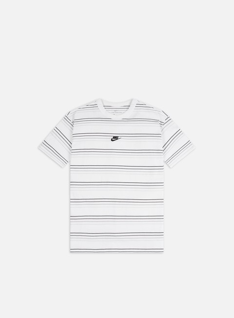 Short Sleeve T-shirts Nike NSW ESTL AOP Stripe T-shirt