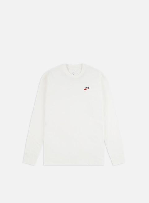 Basic T-shirts Nike NSW Heritage LS T-shirt