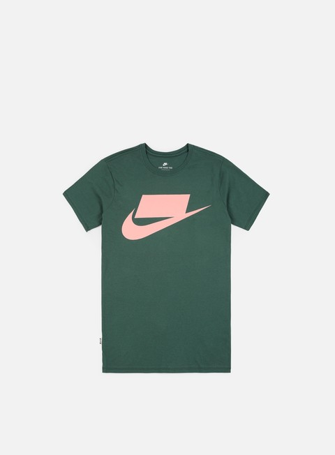 t shirt nike nsw innovation t shirt faded spruce storm pink