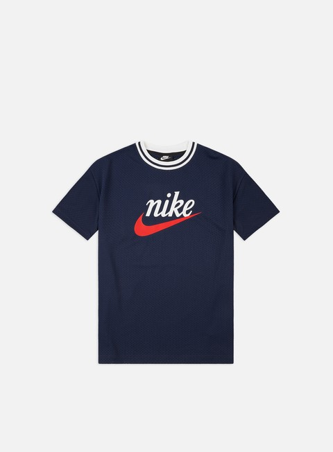 Outlet e Saldi T-shirt a Manica Corta Nike NSW Mesh Graphic Top T-shirt