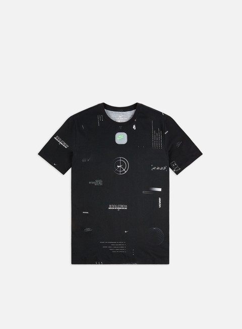 Outlet e Saldi T-shirt a Manica Corta Nike NSW Music AOP T-shirt