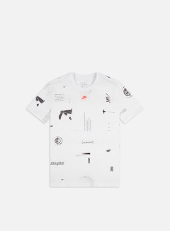 Nike - NSW Music AOP T-shirt, White