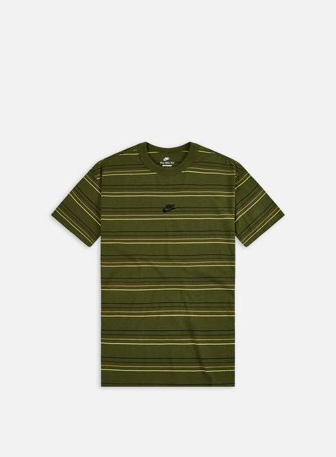 Short sleeve T-shirts Nike NSW Premium Essential Striped AOP T-shirt
