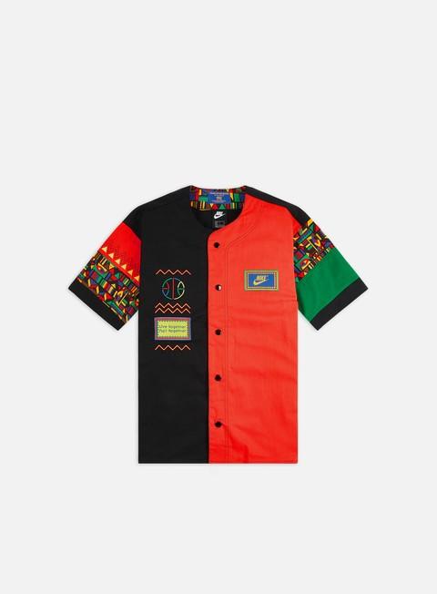 Short Sleeve T-shirts Nike NSW Re-Issue Baseball Jersey