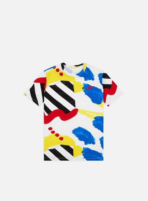 Outlet e Saldi T-shirt a Manica Corta Nike NSW SSNL 2 AOP T-shirt